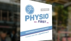 Endorse your practice with Physio First