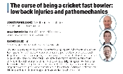The curse of being a cricket fast bowler: low back injuries and pathomechanics