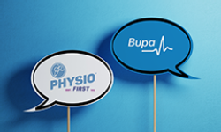 Physio First and Bupa update